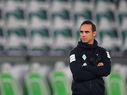 Alexander Nouri wartet mit Werder Bremen noch immer auf den ersten Saisonsieg