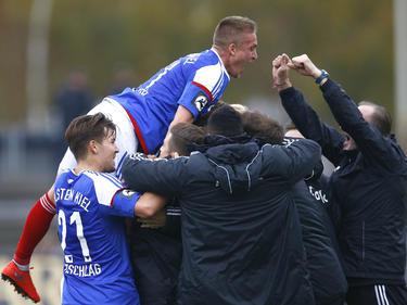 Holstein feierte einen überraschenden Sieg in Magdeburg