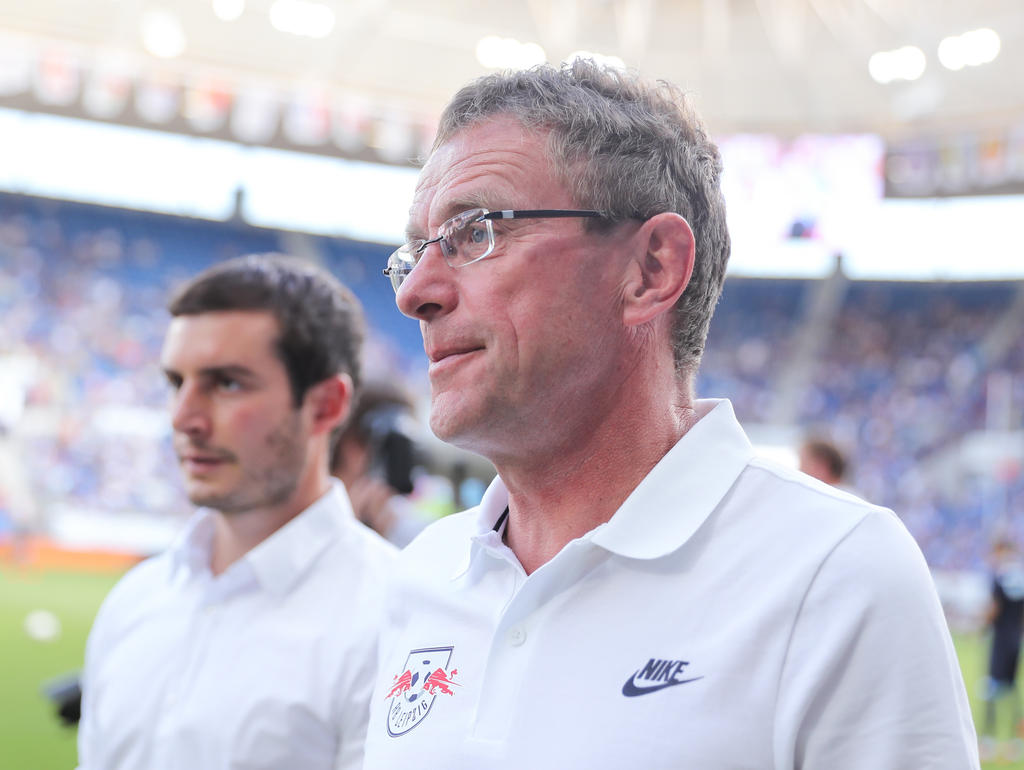 Ralf Rangnick sieht RB nicht als Bayern-Jäger