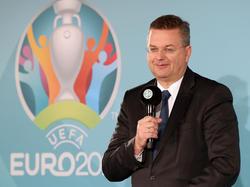 DFB-Präsident Reinhard Grindel will die EURO 2024 nach Deutschland holen