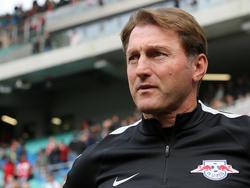 RB-Coach Ralph Hasenhüttl sah gegen den SVW eine ganz neue Herausforderung