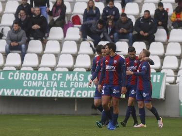 Victoria del Huesca para soñar con el ascenso. (Foto: SD Huesca)