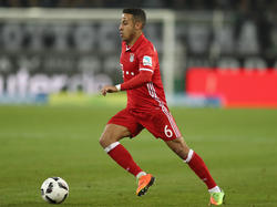 Thiago spielt bei den Bayern eine sehr erfolgreiche Saison