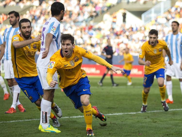 Gewohntes Bild: Lionel Messi dreht jubelnd ab