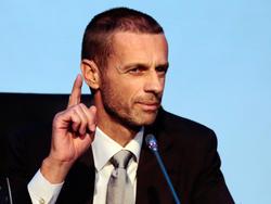 Für UEFA-Boss Aleksander Čeferin gibt es keine Einwände gegen die WM in Russland