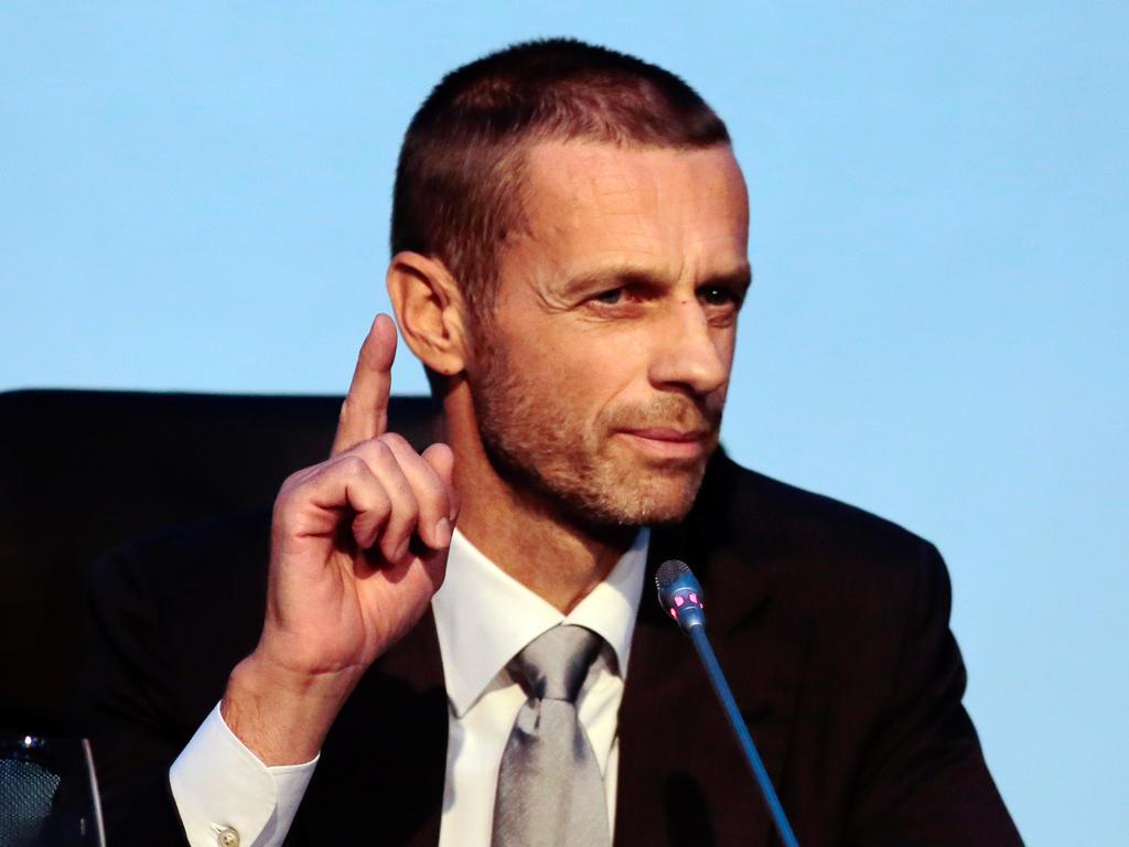 DFB-Präsident Grindel wirbt um EM-Turnier 2024