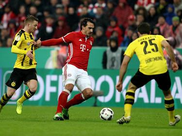 Mats Hummels spielte rund eine Stunde gegen seinen alten Verein
