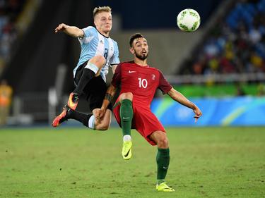 Santiago Ascacibar (l.) bestritt elf Spiele für die argentinische U20-Nationalelf