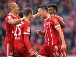 Der FC Bayern zeigte gegen Mainz einen deutlichen Aufwärtstrend