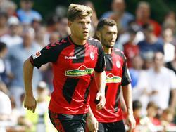 Florian Niederlechner war mit drei Toren der erfolgreichste Freiburger beim 7:0-Testspielsieg