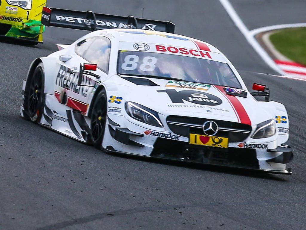 Felix Rosenqvist wird in zwei Wochen in der Eifel den Mercedes wieder fahren