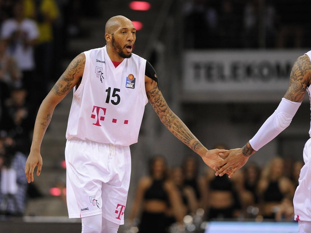 Kenneth Horton erzielte 17 Zähler für die Telekom Baskets