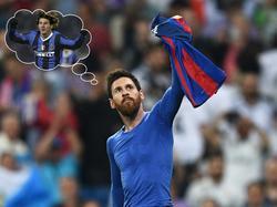 Wie hätte Lionel Messi 2006 wohl im Inter-Trikot ausgesehen?
