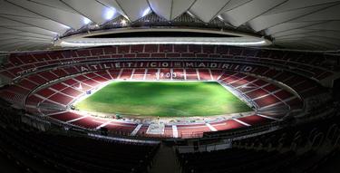 Panorámica del Metropolitano, uno de los mejores estadios del mundo. (Foto: Getty)