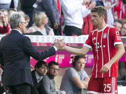 Fanliebling Thomas Müller blüht unter Jupp Heynckes auf
