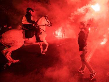 Vor dem Champions-League-Spiel kam es in Sevilla zu Ausschreitungen