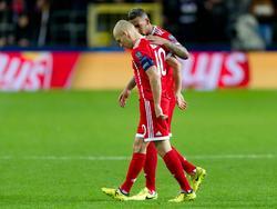 Vorerst außer Gefecht: Arjen Robben