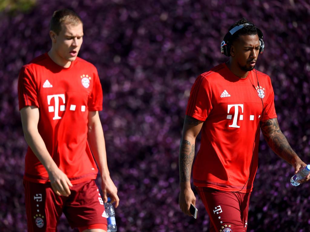Holger Badstuber (li.) startet unter Carlo Ancelotti den nächsten Comeback-Versuch nach Verletzung