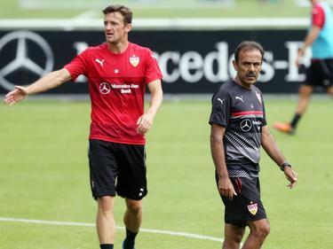 Luhukay (r.) war laut Gentner nicht der richtige Mann für den VfB Stuttgart