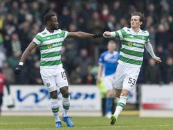 Moussa Dembélé traf dreifach für Celtic