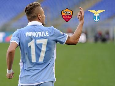 Lazio-Angreifer Immobile freut sich auf das Duell mit der Roma