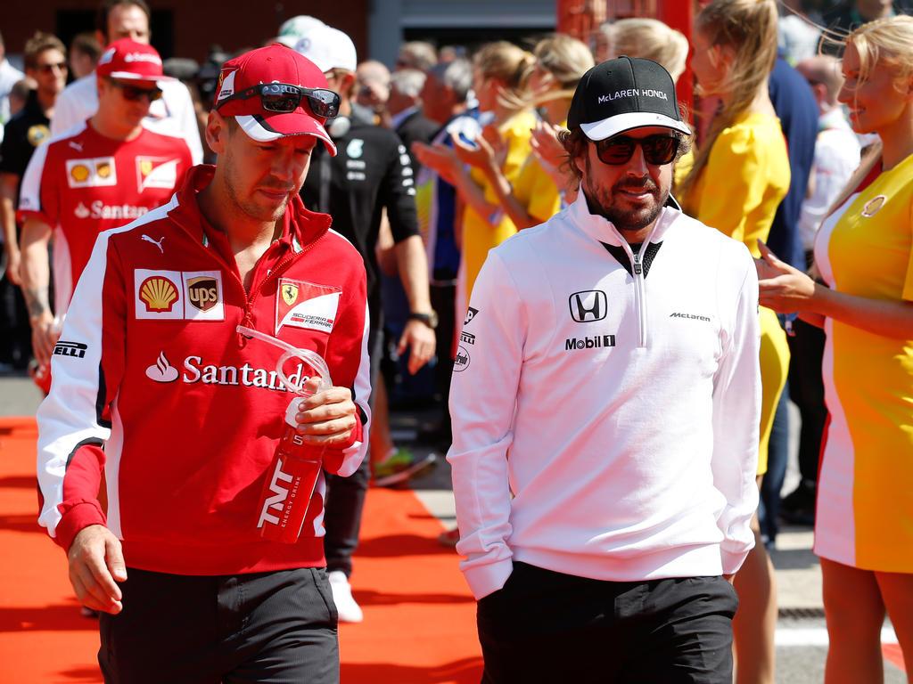 Bilden Sebastian Vettel und Fernando Alonso bald ein Team?