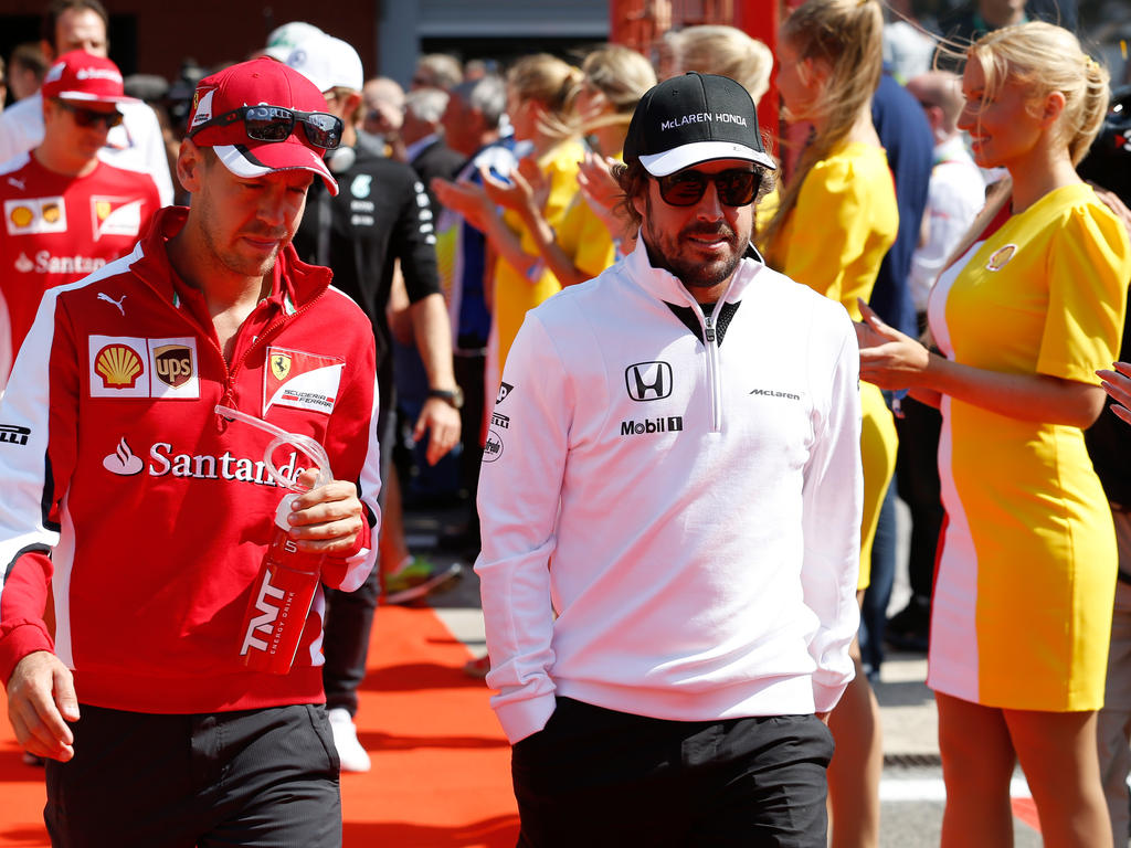 Sebastian Vettel und Fernando Alonso: Bald Teamkollegen in Rot?