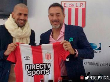 Gustavo Matosas, nuevo técnico de Estudiantes. (Foto: @EDELPOFICIAL Twitter)