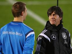 Manuel Neuer und Joachim Löw waren für den DFB stimmberechtigt