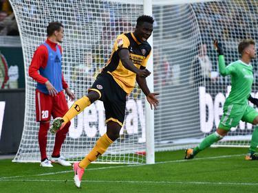 Peniel Mlapa sichert Dynamo Dresden mit seinem Doppelpack einen Punkt