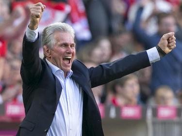Jupp Heynckes celebra lleno de alegría uno de los tantos bávaros. (Foto: Getty)