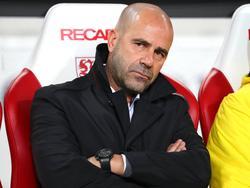 Zunehmend in der Kritik: BVB-Coach Peter Bosz