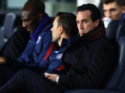 PSG-Trainer Unai Emery steht nach der 1:3-Niederlage in München unter Druck