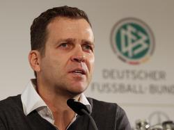 Oliver Bierhoff warnt das DFB-Team