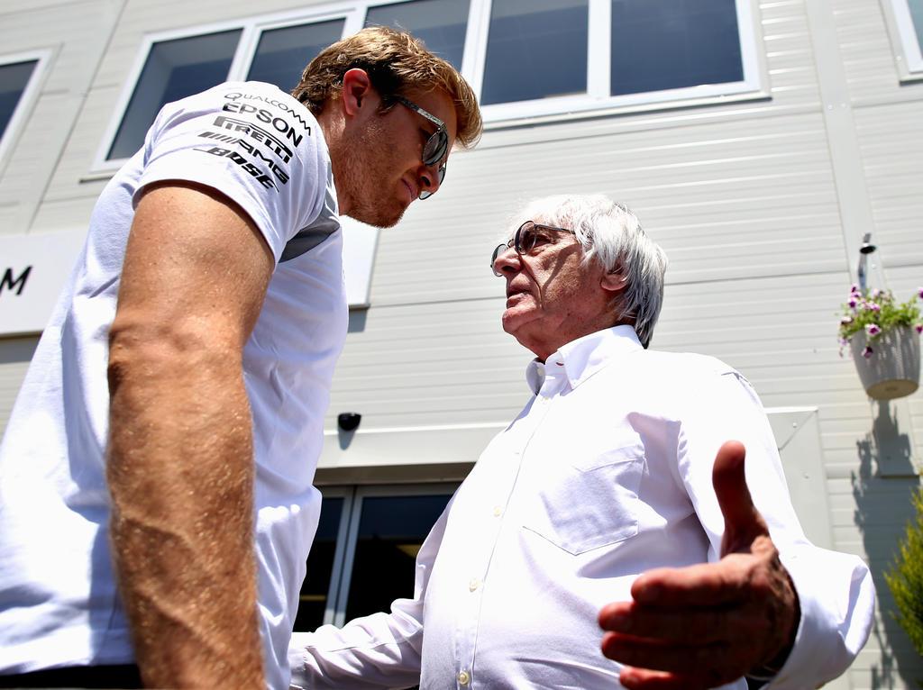 Nico Rosberg lässt die Kritik von Bernie Ecclestone nicht an sich heran