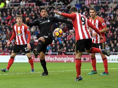 El Liverpool de Can no pudo con el Sunderland de la zona baja. (Foto: Getty)