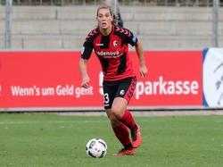 Schiewe hat ihren Vertrag beim SC Freiburg verlängert