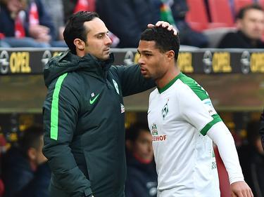 Ziehen Alexander Nouri und Serge Gnabry auch in der nächsten Saison an einem Strang?