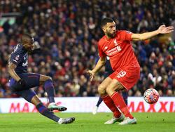 Keine Tore im Spiel zwischen Liverpool und West Ham