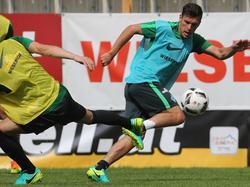 Zlatko Junuzović hängt sich bei Werder weiterhin voll rein