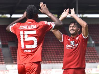 Jhon Córdoba erzielte einen Treffer gegen Erfurt