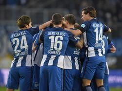 Die Hertha ist weiter in der Erfolgsspur und stürzt Wolfsburg tiefer in die Krise
