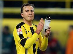 Mario Götze ist sich sicher, der BVB kann jedem Gegner ein Bein stellen