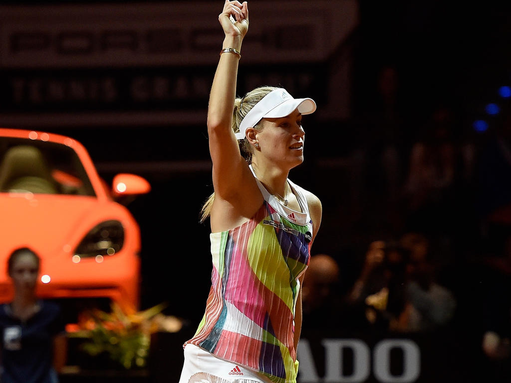 Angelique Kerber belegt in der Weltrangliste den dritten Platz