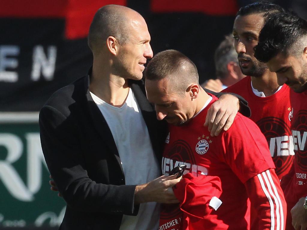 Kicken Arjen Robben und Franck Ribéry auch 2018 gemeinsam in München?
