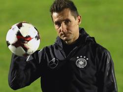 Miroslav Klose ist zurück im Kreis der Nationalmannschaft