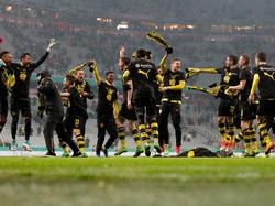 Der BVB freut sich über den Einzug ins Finale