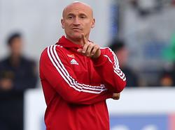 Der Rapid-Trainer Goran Djuricin wird einige Stammkräfte schonen