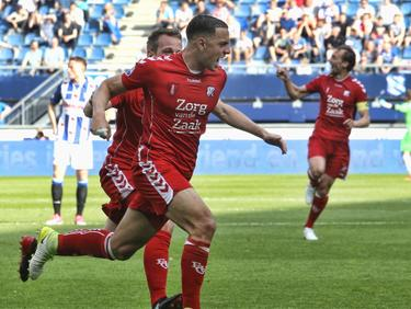 Al na twintig minuten komt sc Heerenveen op een 0-2 achterstand in de play-offs. FC Utrecht heerst in Friesland. (17-05-2017)