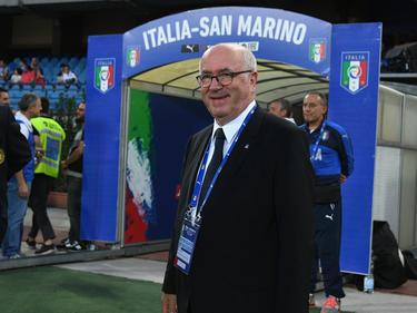 Italiens Verbandspräsident Carlo Tavecchio taugt's